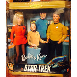 Barbie & Ken Star Trek Colleccion 30 Aniversario