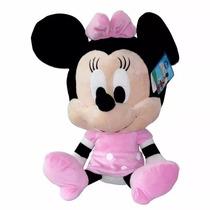 Peluche Minie Mouse Big Head 50 Cm Orignal Disney Minnie