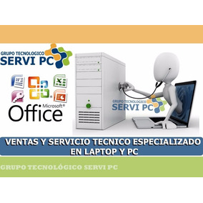 Service Computadoras Desktop Laptop Notebook En Domicilio