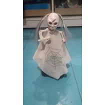 Muñeco Con Luz Sonido Y Camina Calavera Fantasma Halloween