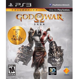 God Of War Saga Ps3 - Fisico Sellado 5 En 1 | Blue Coin