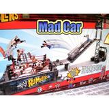 Mc Mad Car Camion W Rumblers Lucha Libre Wwf Navidad Truck