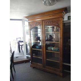 Vitrina-cristalero-biblioteca Arts&crafts-art Nouveau Ingles