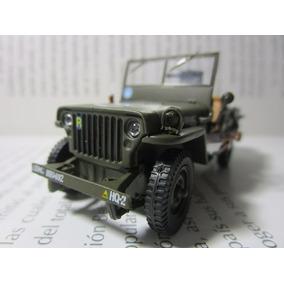 Jeep Minguerra Willys Militar Coleccion Escala Miniatura