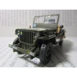 Jeep Minguerra Willys Guerra Militar Coleccion Envio Gratis