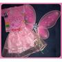 Fantasia Infantil Fada- Princesa- Borboleta Para Festa