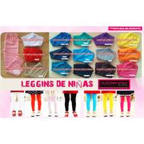 Leggins De Niña 100% Algodon Mayor Y Detal 2/4/6/8/10/12/14