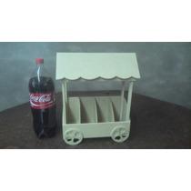 Carrito Kiosco Candy Bar 30 X 16 X 40 Ff 5.5 Y 3mm