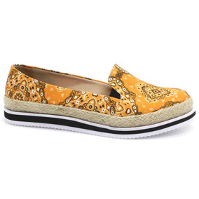 Alpargata Espadrille Zariff Shoes Étnico Boho | Zariff