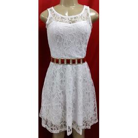 Vestido Moda Evangelica - Em Renda - P