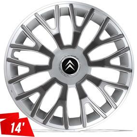 Calota Citroen C3 2008 09 C4 Picasso Aro 14 Silver Graphite