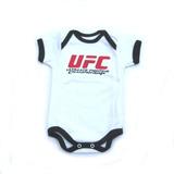 Body Infantil Bebê 100% Algodão Bordado - Ufc