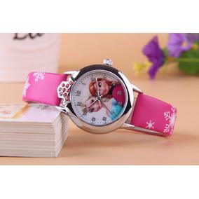 Reloj Elsa Ana Niña Elegante Diseño Original