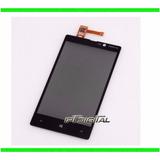Mica Tactil Digitizer Touch Nokia Lumina 820 Nuevas