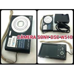 Câmera Digital Sony Cyber-shot Dsc-w510 Zoom Óptico 4x 12mp
