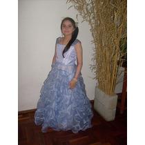 Espectacular Vestido De Fiesta