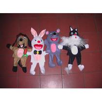 Gcg Lote De Titeres Animales Mascotas 4 Pzas