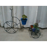 Portamaceta Bicicleta Artesanal Hierro