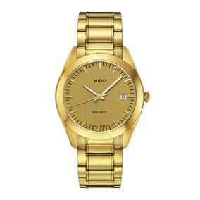 Reloj Mido M0124103302100 Dorado Man Original Envío Gratis
