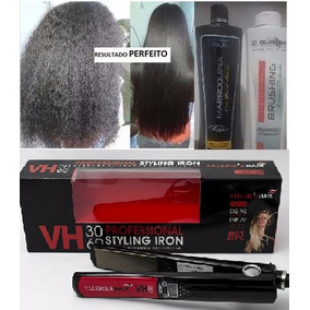 Marroquina Kit Burana + Chapinha Valeries Hair 3060 Ceramica