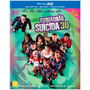 Blu Ray 3d + 2d Esquadrão Suicida - Estendida Luva Orignovo