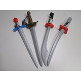 04 Espada Juntas Fantasia Zorro Pirata Ninja Soldados Indios