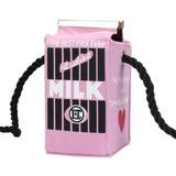 Bolsa Caixa De Leite Divertida Milk Fashionista Funny