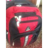 Valija De Viaje Con Carrito/mochila 25 L .54x37x25.