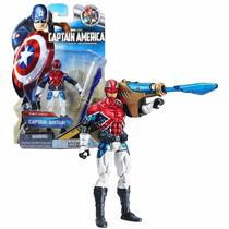 Boneco Hasbro Marvel Comic Series Captain Britain Raríssimo