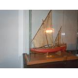 Barco De Coleccion Sanbuco Arabe En Madera Balsa