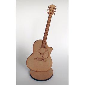 Figura De Guitarra Acustica Country Mdf 3 Mm 25 Cms Altura