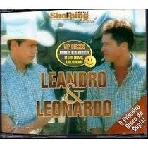 Cd Original - Leandro E Leonardo Primeiro Disco Da Dupla