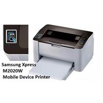 Impresora Samsung Sl-m2020w Wi-fi Nfc Laser Mono 21ppm 1200x