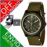 30%off Reloj Victorinox Swiss Army Chrono Quartz /varios Mod
