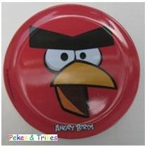 Fiesta Angry Birds Plato Melamina Como Recuerdo