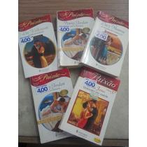 Lote De 5 Livros Serie Paixão Harlequin Frete 10,00