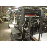 Heidelberg Speed Master/ 4 Colores/ Maquina Impresora Offset