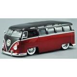 1:24 Jada Vw Perua Kombi 62 Fusca Ford Chevy Pick-up Bus Van