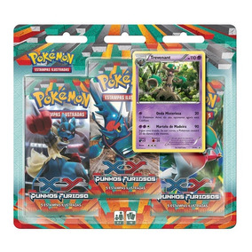 Pokémon Triple Pack Punhos Furiosos Trevenant
