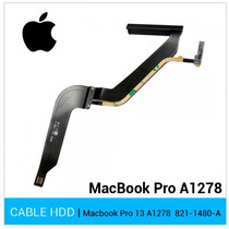 Cable Disco Duro Apple Macbook Pro 821-1480-a Año 2012 Nuevo