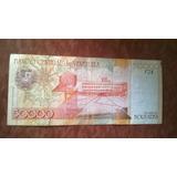 Billete Venezolano De 50000 Del Año 2005