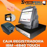 Caja Computarizada Sistema De Restaurante Tactil Oferta!!