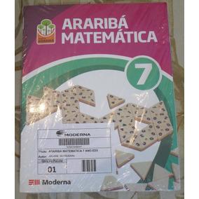 Araribá Matemática 7º Ano Editora Moderna - Novo E Lacrado!