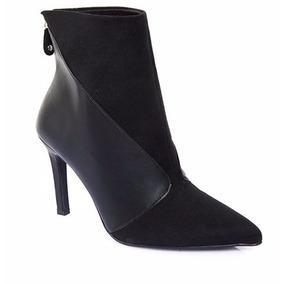 Bota Feminina Vizzano Ankle Boot Meia Pata 3049.100