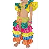 Fabuloso Disfraz De Rumbera Talla 2
