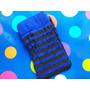 Media Bucanera Rayada Azul Para Tu Disfraz Elroperitodeanita