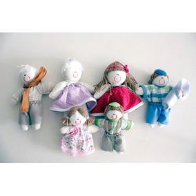 Coleção Bonecos De Pano Família Pedagógica