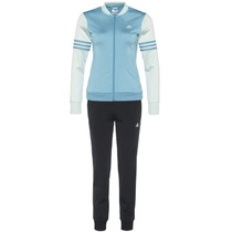 Conjunto Sudadera Con Pants Training Niña Adidas Ay5384