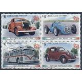 Vehículos Antiguos Autobomba - Uruguay - Serie Mint (mnh)