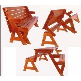 Projeto Cadeira Vira Mesa E Mesa Vira Banco Envio Gratis